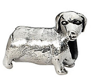 Prerogatives Sterling Dachshund Bead - J299493