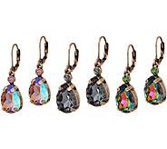 Joan Rivers Set of 3 Vintage Style Teardrop Earrings - J349093