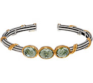 Peter Thomas Roth Sterling & 18K Clad Gemstone Cuff - J356993