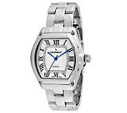 Peugeot Womens Silvertone Roman Numeral Bracelet Watch - J307194