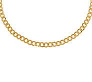 7-1/4 Polished Curb Link Bracelet, 14K Gold5.00g - J308994