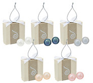 Honora Cultured Pearl Set of 5 8.0mm Boxed Stainless Steel Stud Earrings - J329794