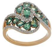 Alexandrite and Diamond Ring, 1.60 cttw, 14K Gold - J357094