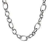 Or Paz Sterling Silver 69.0g 20 Link Necklace - J347095