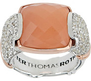 Peter Thomas Roth Sterling & 18K Clad Gemstone Ring - J356995