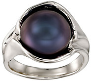 Hagit Sterling Silver Round Cultured Pearl Ring - J385195