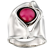 Hagit Sterling Silver Cultured Pearl Ring - J385395