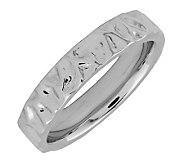 Simply Stacks Sterling Silver Wave-Style 4.25mmRing - J298996