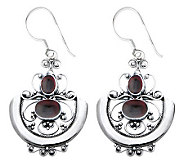 Novica Artisan Crafted Sterling Arabesque Earrings - J307496