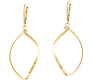 Dieci Polished Twisted Hoop Earrings, 10K Gold - J334596