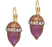 Kirks Folly Wild Acorn Leverback Earrings - J351496