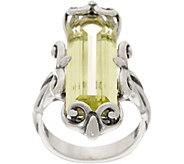 Carolyn Pollack Sterling Silver Baguette Quartz Ring - J352696