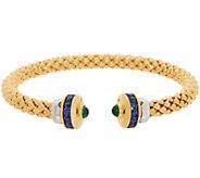 Heritage Jewelry Simulated Gemstone Cuff Bracelet - J357396