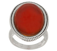 Or Paz Sterling Silver Oval Gemstone Ring - J358696
