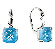 Peter Thomas Roth Sterling Fantasies Blue TopazDrop Earrings - J392196