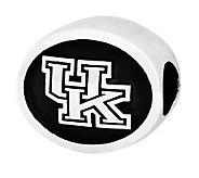 Sterling Silver University of Kentucky Bead - J300797