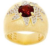 Genesi 18K Clad Gemstone Cocktail Ring - J330197