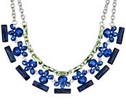 As Is Isaac Mizrahi Live! Crystal Statement Necklace - J350797