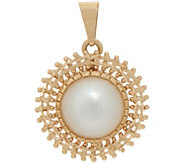 Imperial Gold Cultured Mabe Pearl Pendant, 14K Gold - J352297