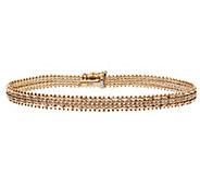 Imperial Gold 8 Wheat Bracelet 14K, 11.8g - J388997