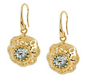 Arte DOro 1.20 ct tw Gemstone Dangle Earrings,18K - J112998