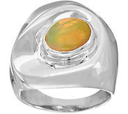 Hagit Sterling Silver Opal Ring - J335798