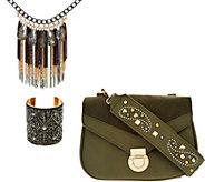 Charming Charlie Embellished Jewelry & Accessory Set - J347498
