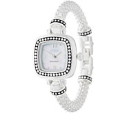 Ecclissi Sterling Silver Popcorn Band Watch - J357998