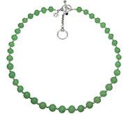 Elyse Ryan Sterling Gemstone Bead Necklace - J383498