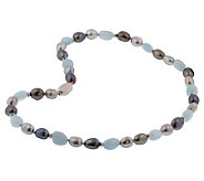 Honora Cultured Pearl & Gemstone Necklace - J105499