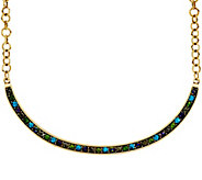 LOGO Links_by Lori Goldstein Pave Collar Necklace - J334299