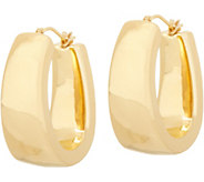 Oro Nuovo Bold Oval Hoop Earrings, 14K - J351199