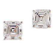 Diamonique ClickSecure 2.00 cttw Stud Earrings, Sterling - J353199