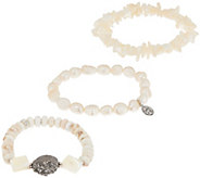 Jodie M. Daydreamer 3-Piece Stretch Bracelets - J354999
