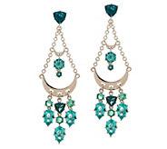 Pina Colada Chandelier Crystal Earrings - J356499