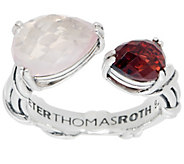 Peter Thomas Roth Sterling Silver Multi-Gemstone Bypass Ring - J356999