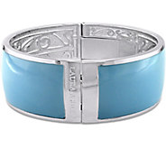 Laura Ashley Pastel Color Enamel Bangle - J376099