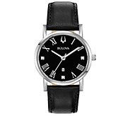 Bulova Womens Classic Slim-Profile Diamond Accent Watch - J384799