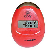 CDN Egg-Shaped Digital Timer TM12-R - K132700