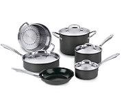 Cuisinart Green Gourmet Nonstick 10-Piece Cookware Set - K298100