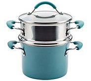 Rachael Ray Cucina Hard Enamel Nonstick 3-qt Multi-Pot Set - K304902