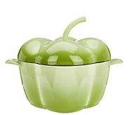 As Is Cooks Essentials 3.5qt Cast Iron Gradient Pepper - K308002