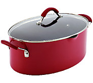 Rachael Ray Cucina Hard Enamel 8-qt Covered Oval Pasta Pot - K303203