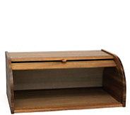 Lipper Acacia Rolltop Bread Box - K306603