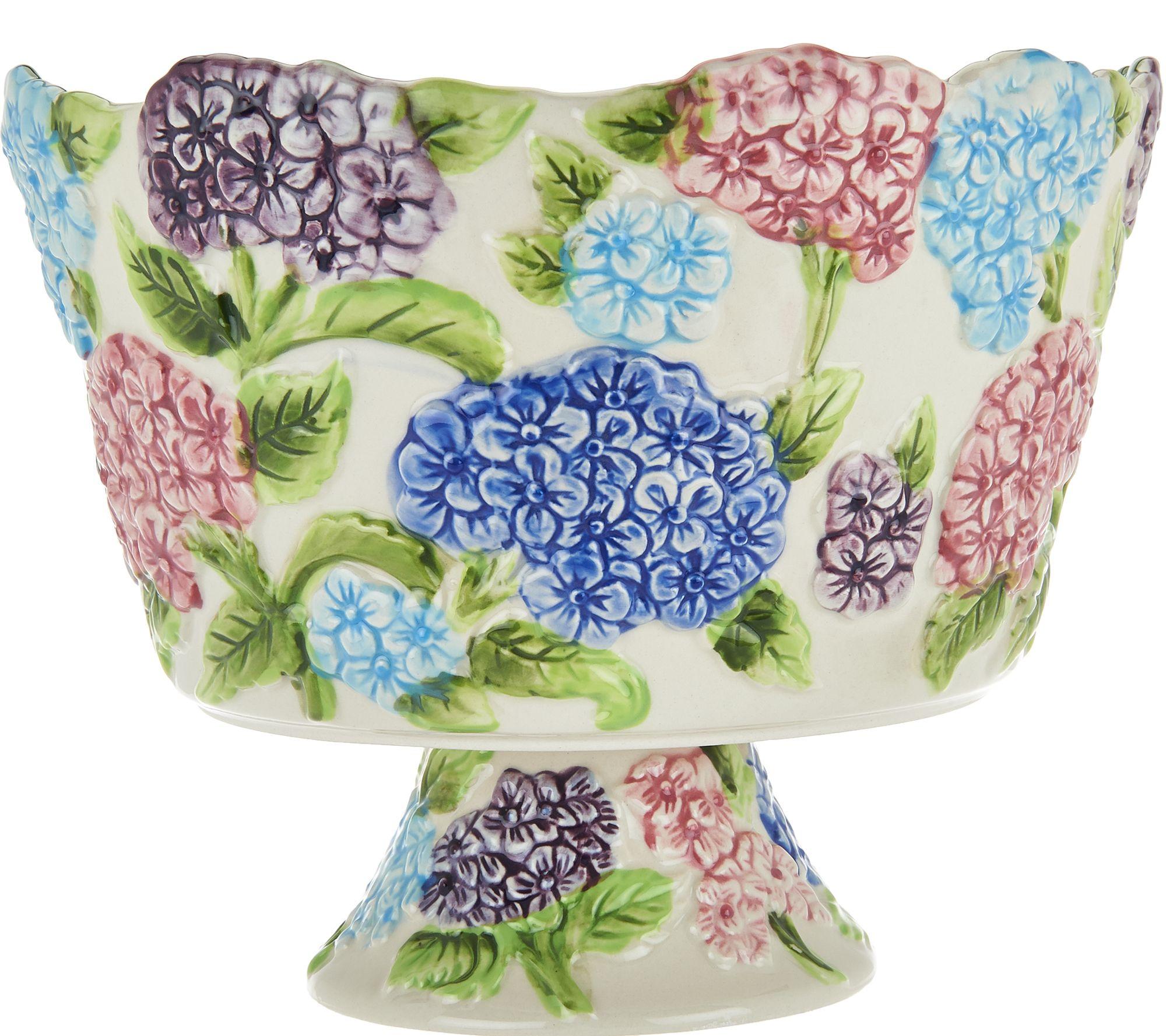 sc 1 st  QVC.com & Temp-tations Figural Floral 3 qt. Trifle Bowl - Page 1 u2014 QVC.com