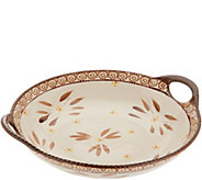 Temp-tations Old World Round Centerpiece Platter - K47306