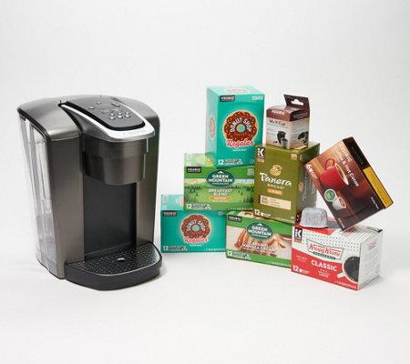 Keurig K-Elite Coffee Maker with My K-Cup & 78 K-Cup Pods