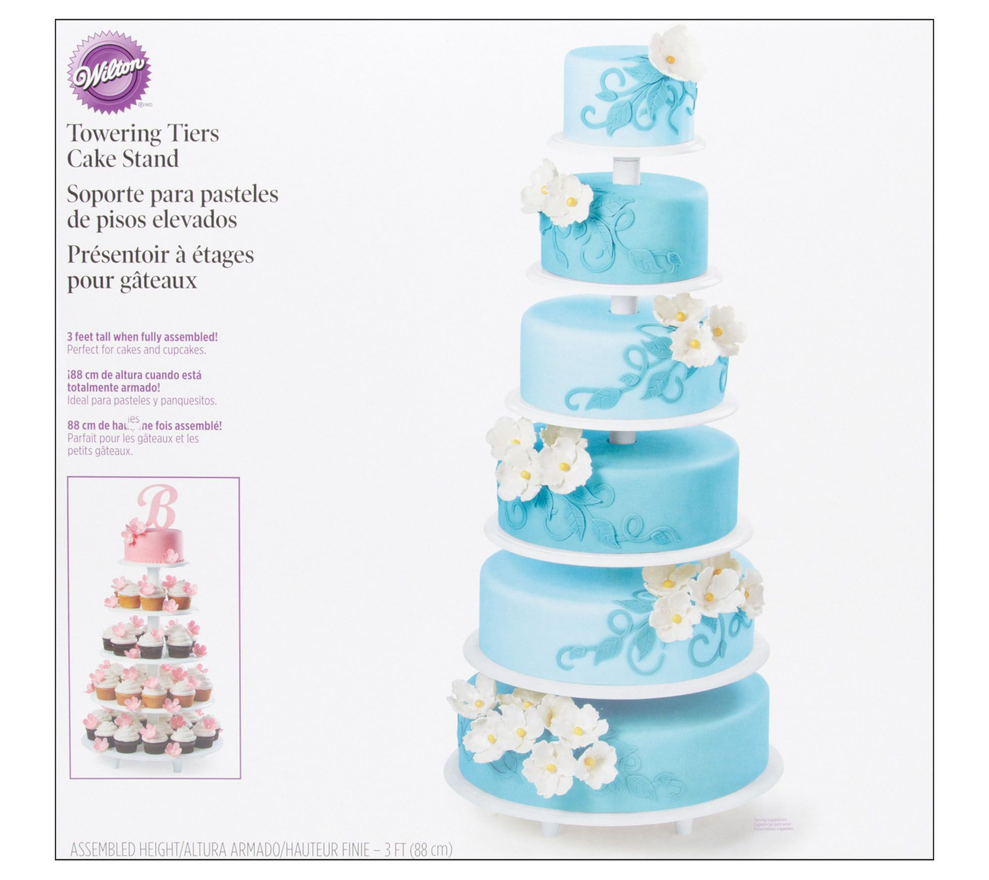 Wilton Towering Tiers Cake Stand — QVC.com