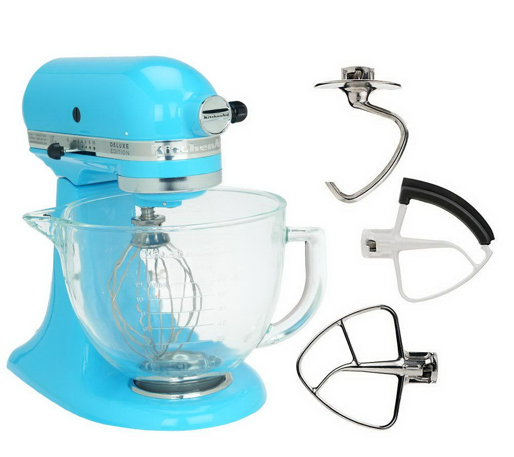 KitchenAid Deluxe Edition 5qt 325 Watt 10SpeedTiltHead Stand Mixer ...