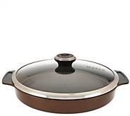 Maker Homeware Round Ceramic Steam Grill Pan - K44308